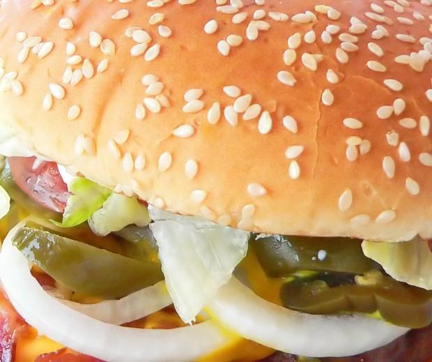 Se no dia do lixo você comer um combo grande de fast food pode ingerir até 1.500 calorias (crédito: freeimages.com)