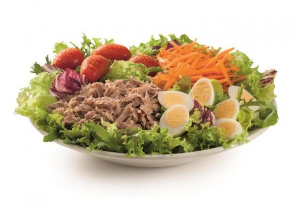 Salada de atum do McDonald's (Foto Divulgação)