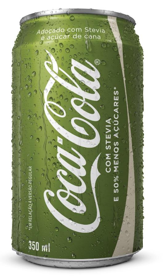A nova Coca-Cola Life, com redução de 50% de açúcar (Foto Divulgação)
